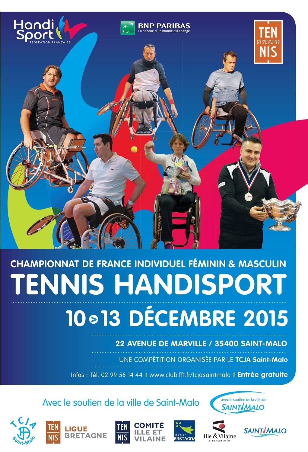 Championnat france individuel tennis handisport comit - Comite d ille et vilaine de tennis de table ...