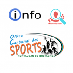 RECRUTEMENT par l'Office Cantonal des Sports de Montauban de Bretagne d'un « Educateur Sportif APA »