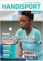 Couvverture du Handisport Le Mag Octobre 2017