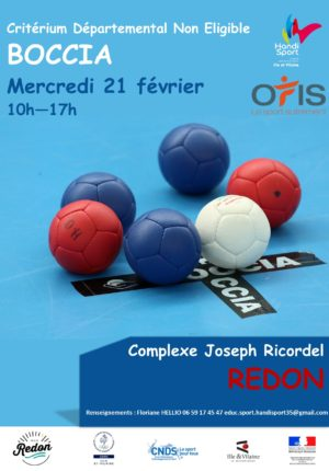 Criterium National Departemental Boccia Eligible
