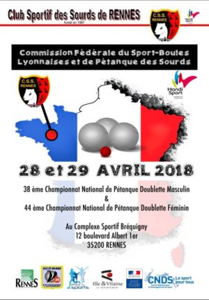 Championnat national Petanque